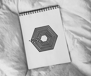 exo, overdose, and drawing image