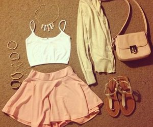 summer, summer outfits, outfits, style, skirt, fashion, girly, cute