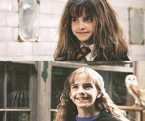hermione granger, emma watson, and harry potter image