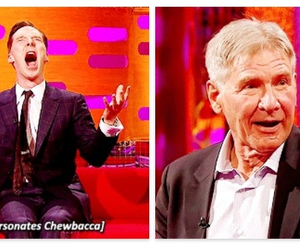 funny, the graham norton show, and harrison ford image