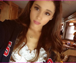 beauty, famous, and ariana image
