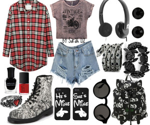 fashion, hipster, and punk image