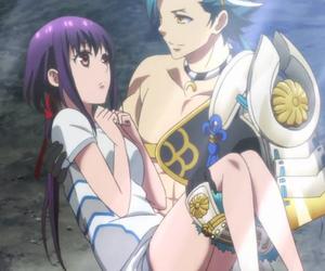 anime, kamigami no asobi, and love image