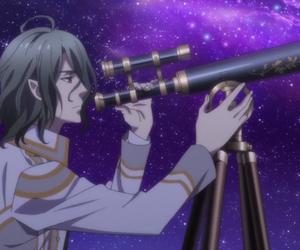 anime, astronomy, and boy image