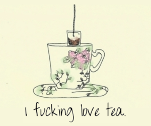 tea and love image