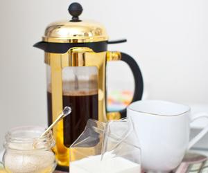 breakfast, coffee, and InteriorDesign image