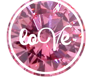 diamond, pink, and creations image