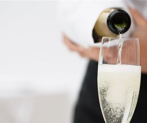 champagne, drink, and alcohol image