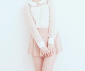 fashion, kfashion, and cute image