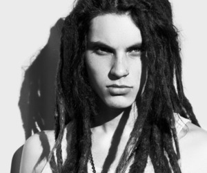 black and white, dreads, and the glee project image