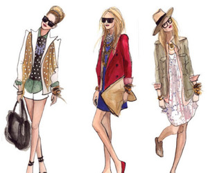 fashion, girl, and girls image