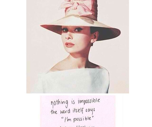 audrey hepburn, beauty, and hope image