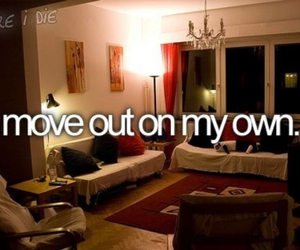before i die, move out, and bucket list image