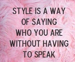 style, pink, and quote image