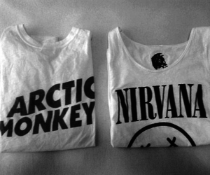 nirvana, arctic monkeys, and band image