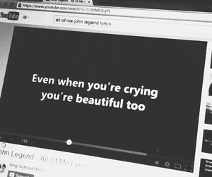 quote, beautiful, and song image