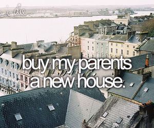 before i die, house, and bucket list image