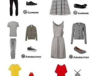 outfit, divergent, and factions image