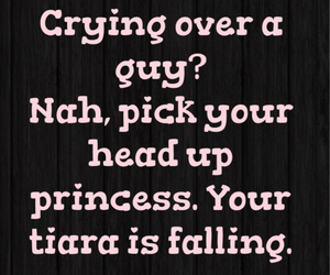 crying, princess, and quotes image
