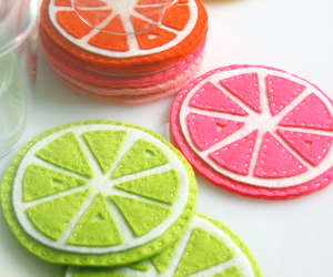citrus and coasters image