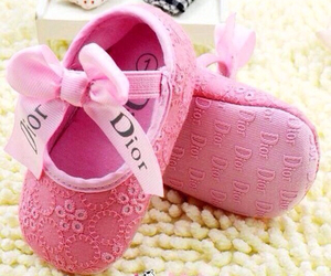 baby, dior, and girl image