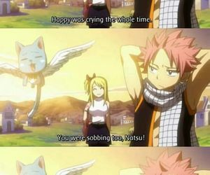 nalu, fairy tail, and happy image