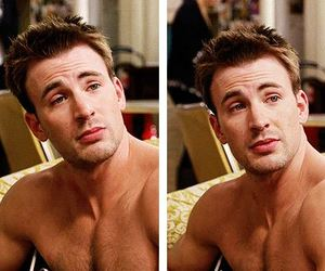 chris evans, handsome, and perfect image