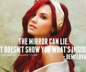 demi, girl power, and mirror image