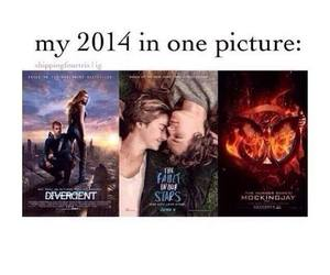 divergent, movies, and mockingjay image