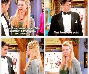 joey tribbiani, tv show, and phoebe buffay image