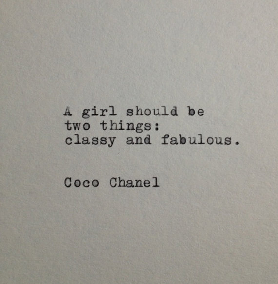 Coco Chanel Zitate Deutsch Google Suche On We Heart It