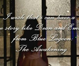 blue lagoon, brenton thwaites, and dean image