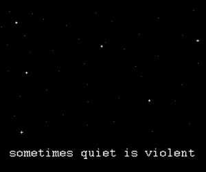 violent, quotes, and sad image