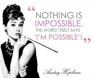 quotes and audrey hepburn image