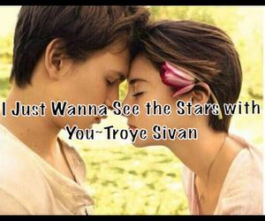 Lyrics, Shailene Woodley, and troye sivan image