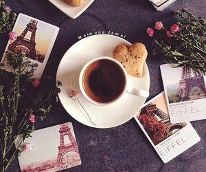coffee, paris, and tea image