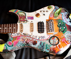 art, fender, and guitar image