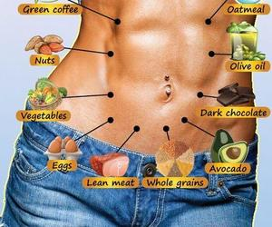 abs, food, and flat image