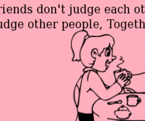 judge, bestfriend, and together image