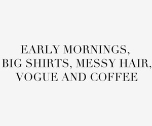 vogue, coffee, and quotes image