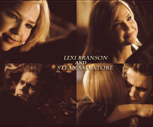 the vampire diaries, stefan salvatore, and lexi branson image