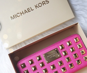 pink, Michael Kors, and luxury image