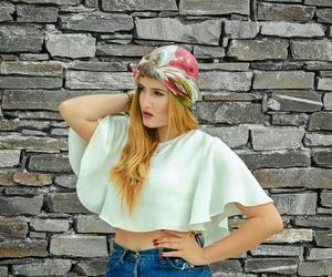 fashion blog, Zara, and turban image
