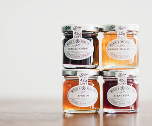 food, jam, and apricot image