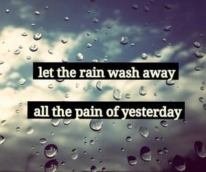 rain, away, and beautiful image