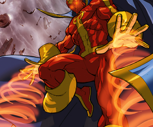 justice league, dc comics, and red tornado image