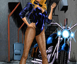 Black Canary, justice league, and dc comics image