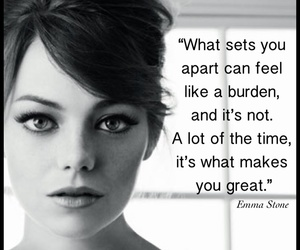 emma stone, quote, and beautiful image