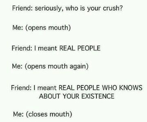 crush, funny, and quotes image