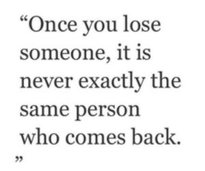 quote, lose, and lose someone image